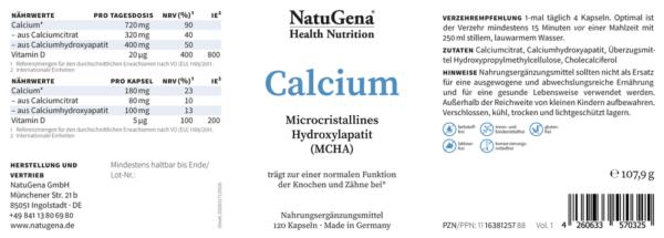 NatuGena_Calcium_Etikett